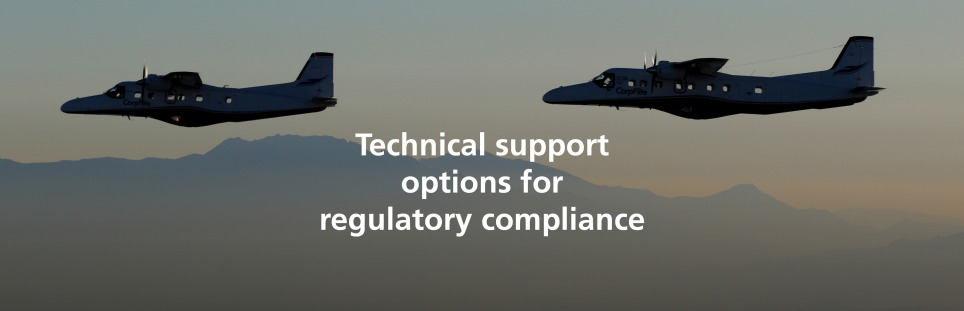 FlyDornier228_Technical support options for regulatory compliance