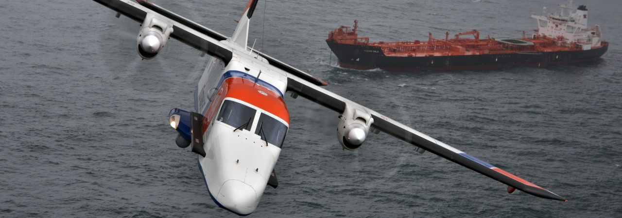 Dornier 228 Special Mission aircraft for the Netherlands Coastguard