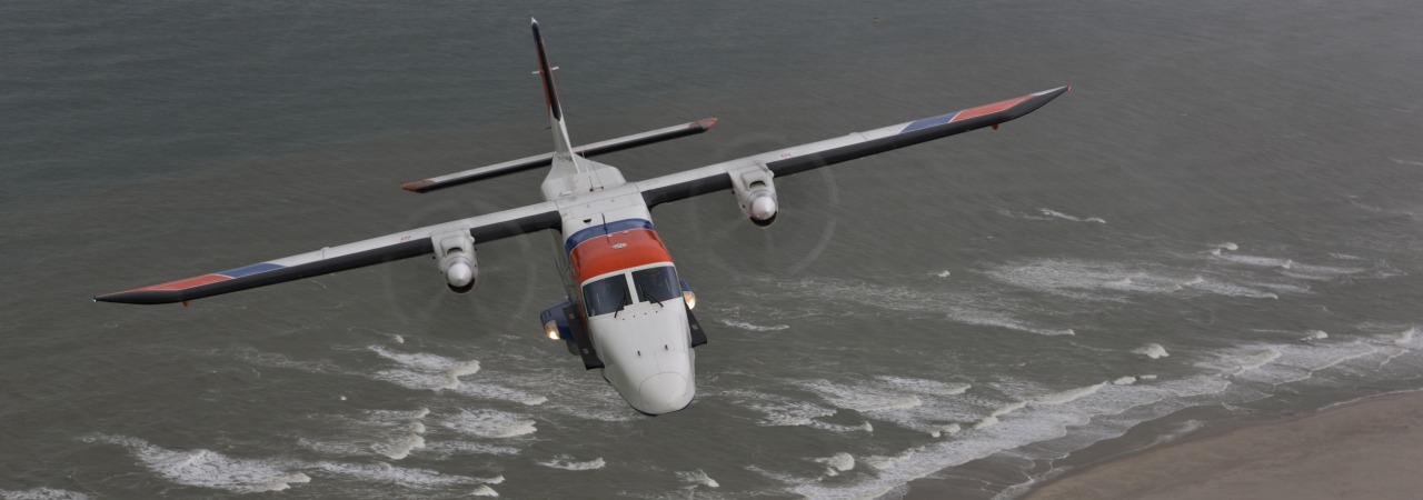 Netherlands Coastguard 24-7 readiness for deployment above the North Sea